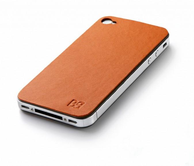 Protection adhésive pour iPhone, en cuir, Skin, Buzzebizz, 34,90 €