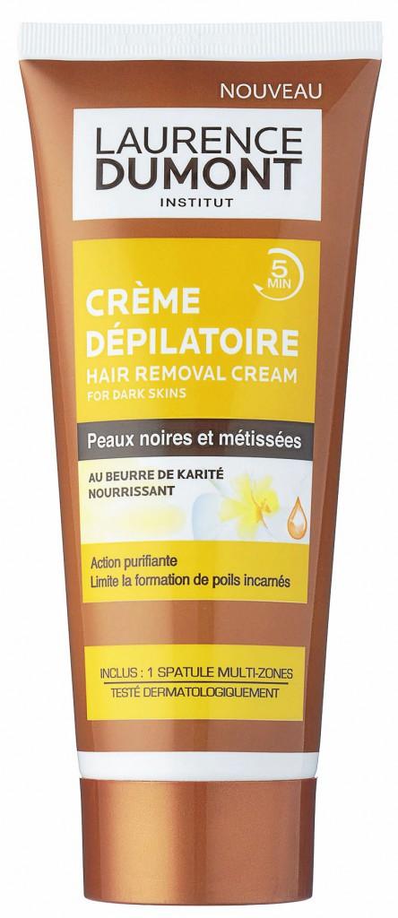 Pour les peaux noires Crème dépilatoire au beurre de karité, Laurence Dumont 4,90 €