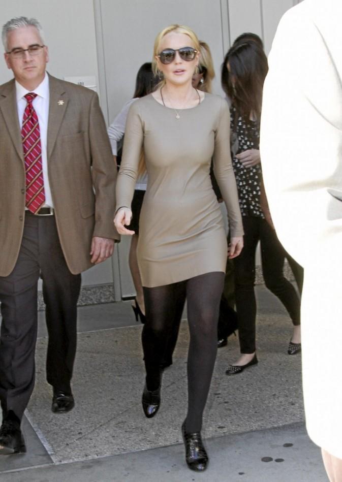 Lindsay Lohans taille des seins