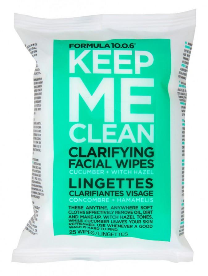 Lingettes clarifiantes, Keep Me Clean, Formula 10.0.6 4,95 €