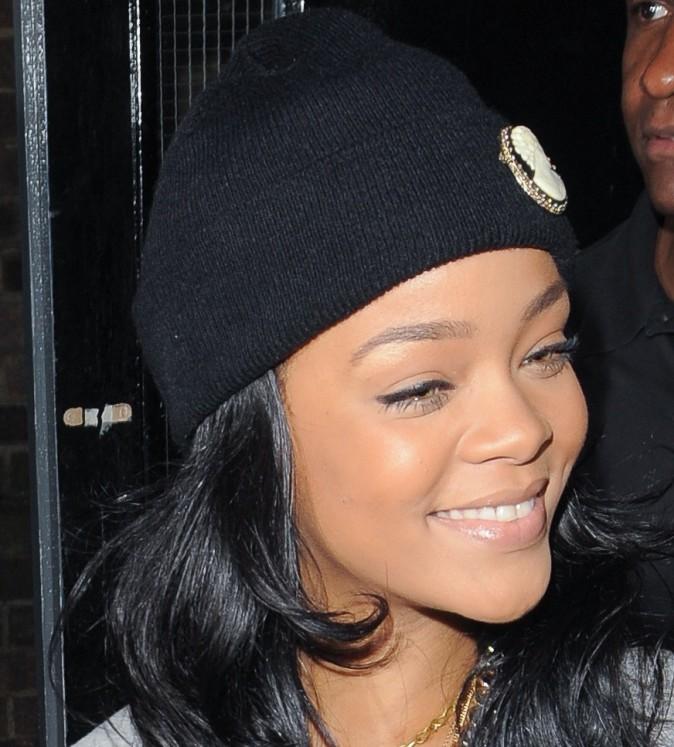 Rihanna, ça pustule à fond !