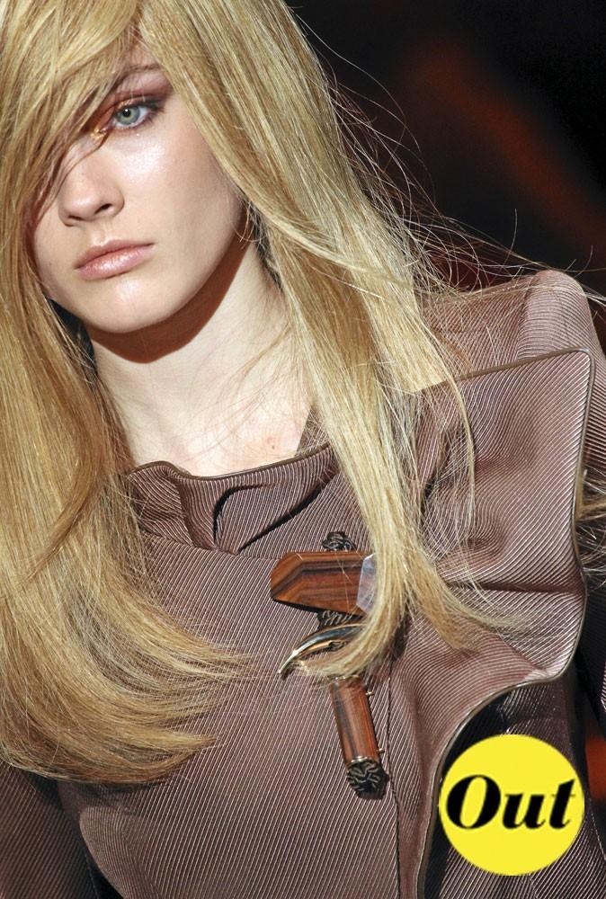 Les tendances beauté été 2011 : le blond naturel au défilé Armani, automne-hiver 2010