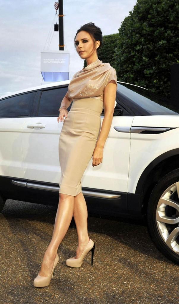 Victoria Beckham en juillet 2010