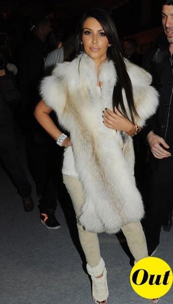 Kim Kardashian chez Kanye West