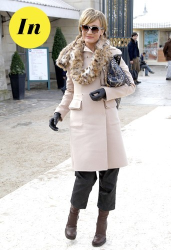 Patricia Kaas chez Valentino