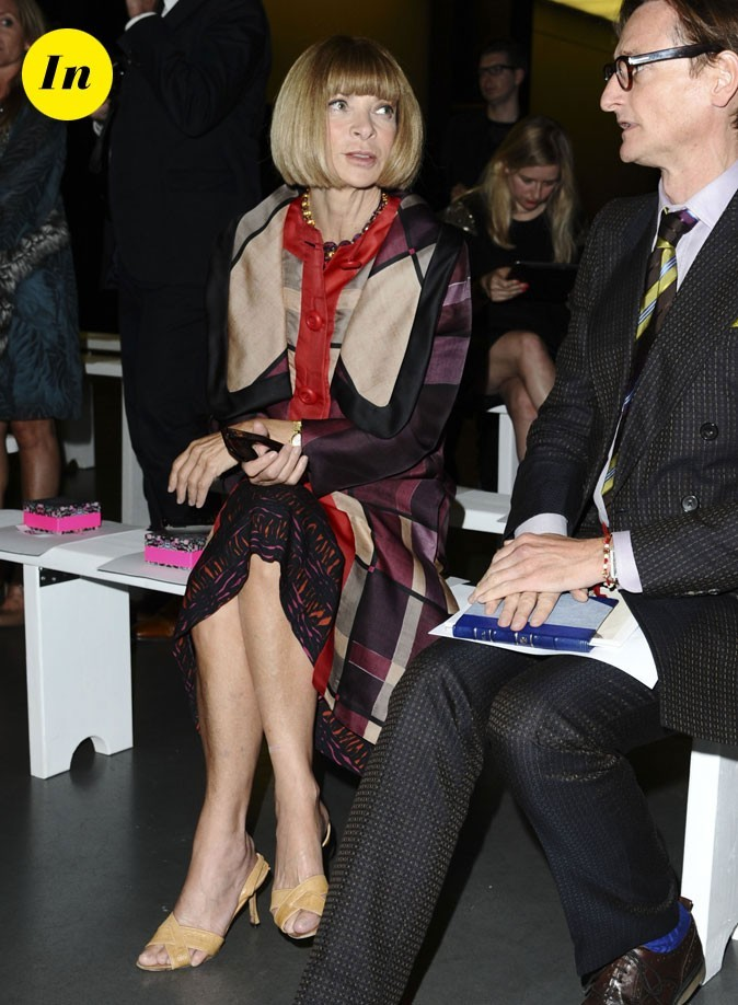 Fashion Week de Londres : Anna Wintour au défilé Matthew Williamson !