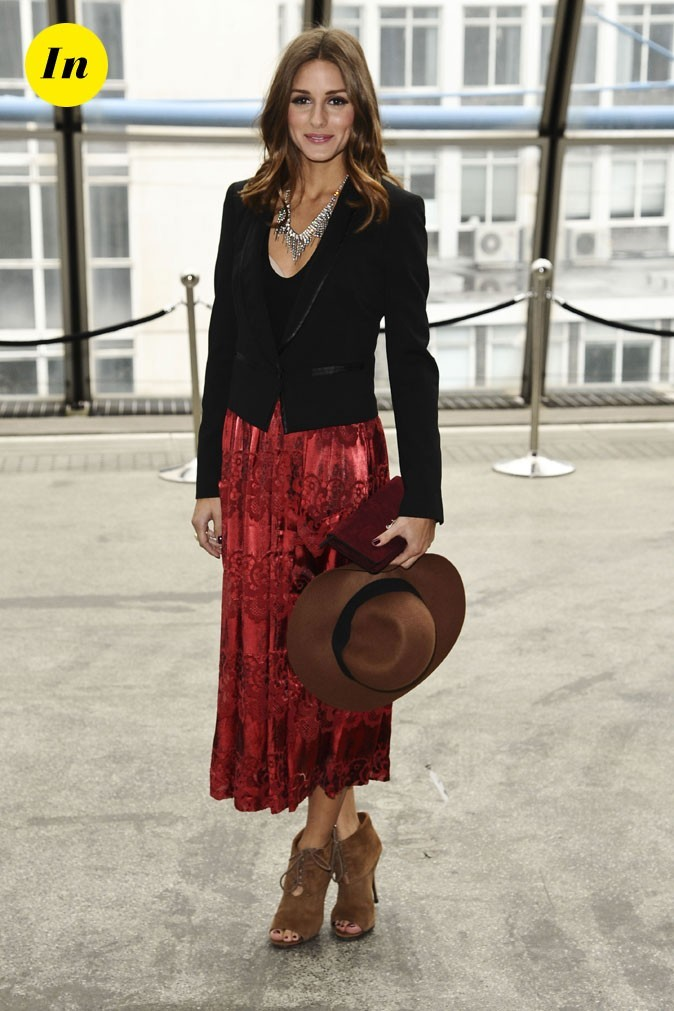 Fashion Week de Londres : Olivia Palermo au défilé Topshop Unique !