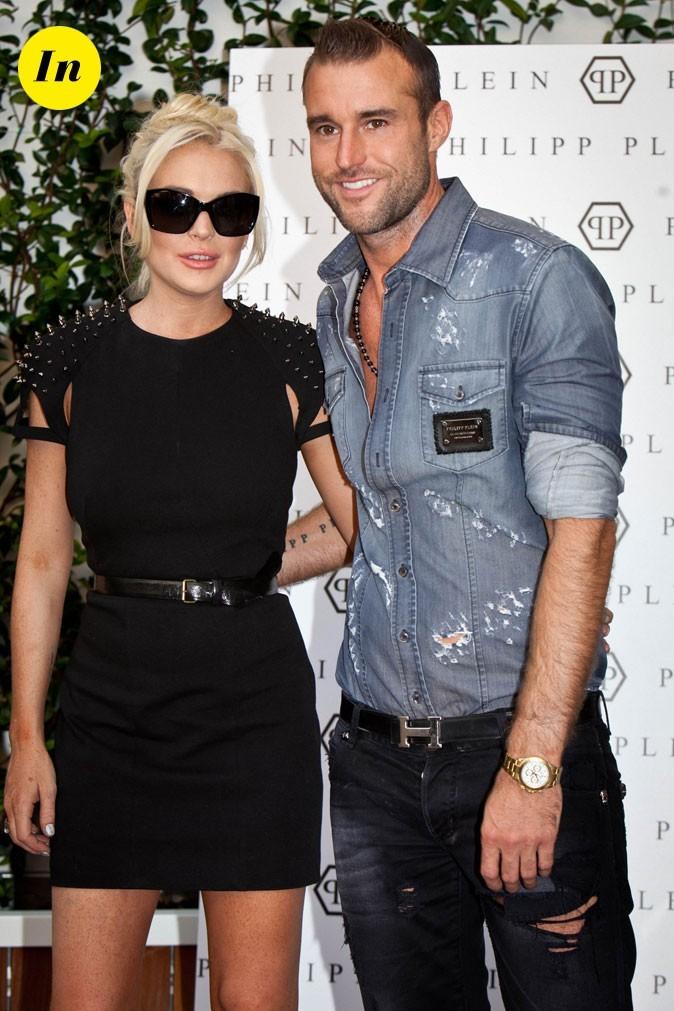 Fashion Week de Milan : Lindsay Lohan au défilé Philipp Plein !