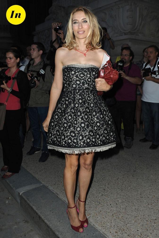 Alexandra Golovanoff au défilé Chanel