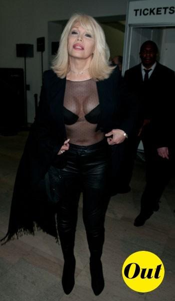 Amanda Lear chez Givenchy