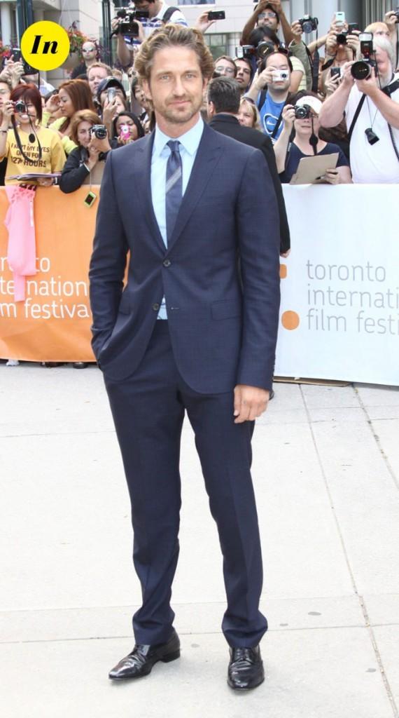 Festival du film de Toronto 2011 : le costume bleu navy de Gerard Butler !