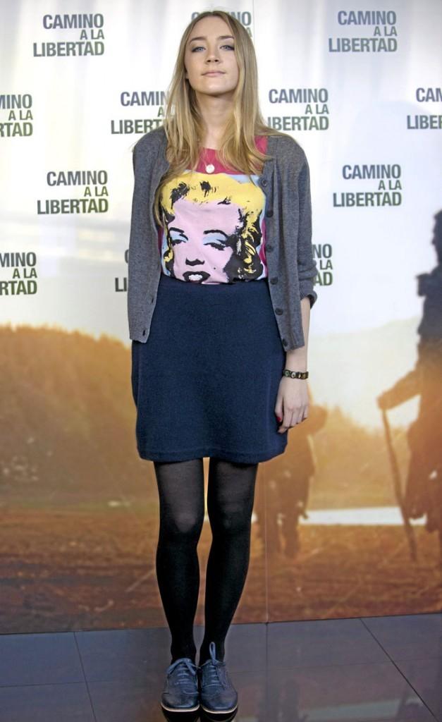 La it girl Saoirse Ronan