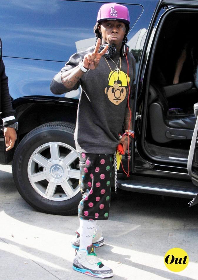 Lil Wayne : Flashy et comics! C'est raté!