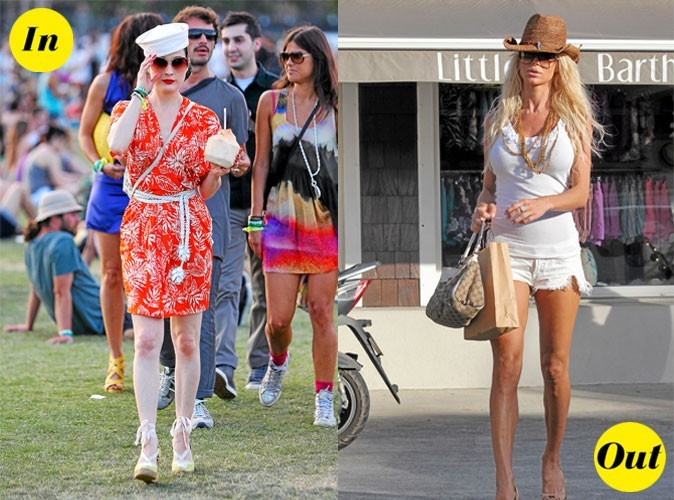 Les tendances In&Out de l'été 2011 !