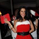 2011: En mère noël sexy à la soirée de noël de Secret Story 5 au Six Seven.