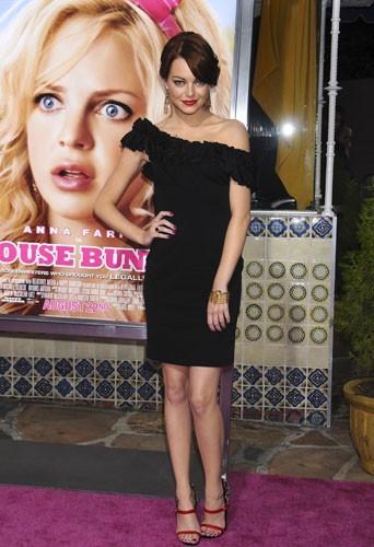 2008: Chic et sobre pour la première du film Super Blonde !