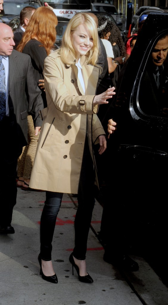 2012: Au David Letterman Show
