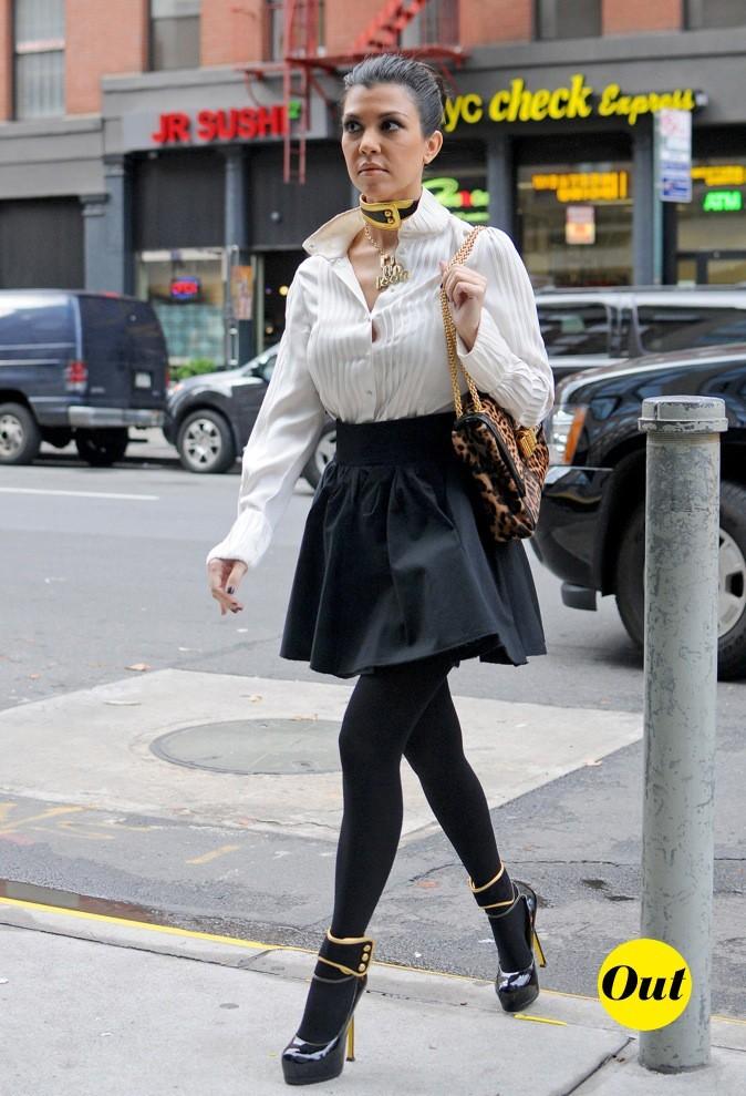 2011: Fashion faux pas pour Miss Kardashian !