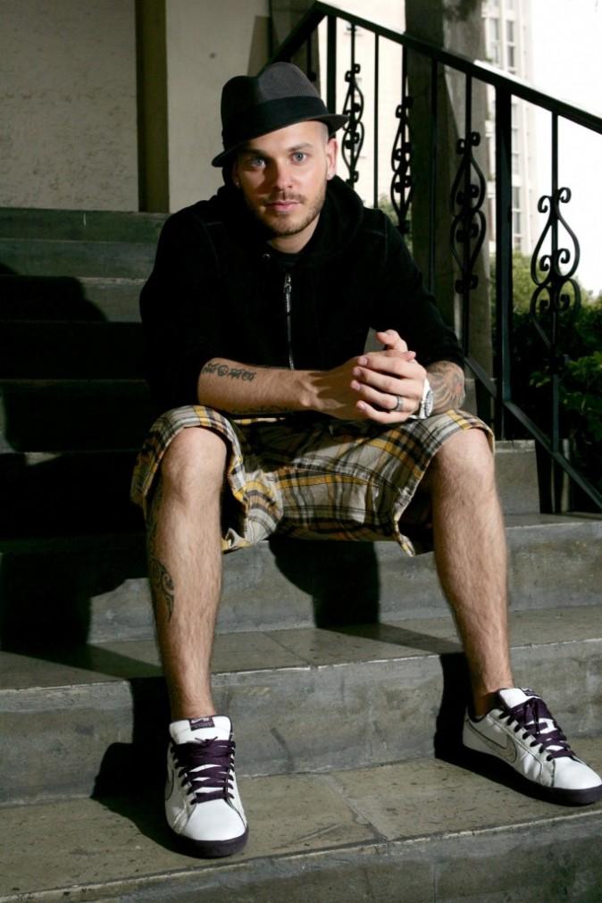 2008: Photoshoot pour la promotion de son album MP3
