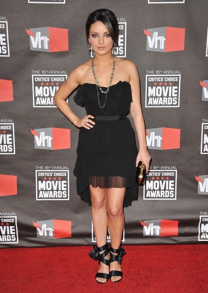 2011: Mila sublime pour les critics choice awards !