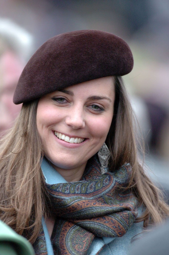 Look de star : le béret de Kate Middleton en mars 2007