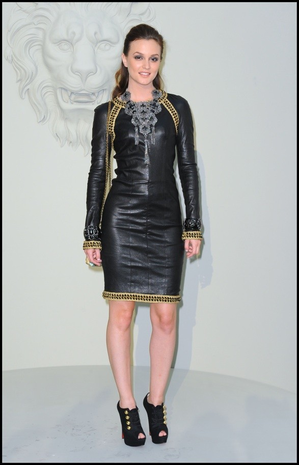Photo : le look de Leighton Meester en juillet 2010 au défilé Chanel