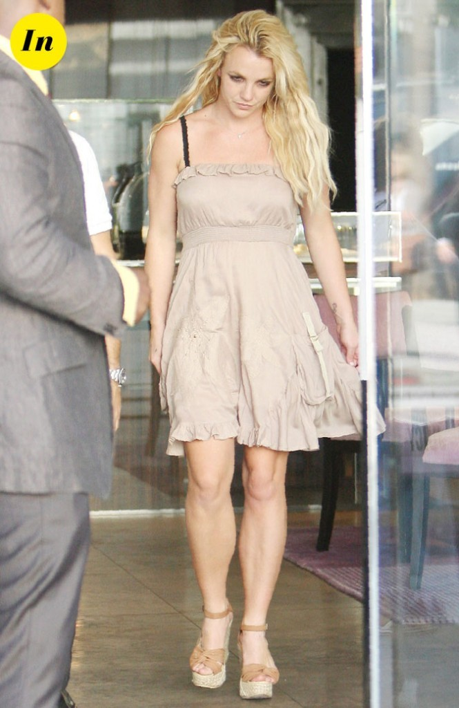 Photo : la robe nude de Britney Spears