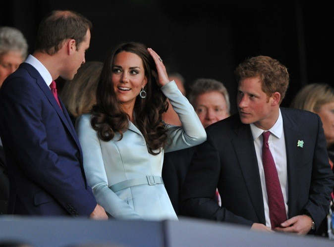 Kate Middleton lors de la cérémonie d'ouverture des Jeux Olympiques