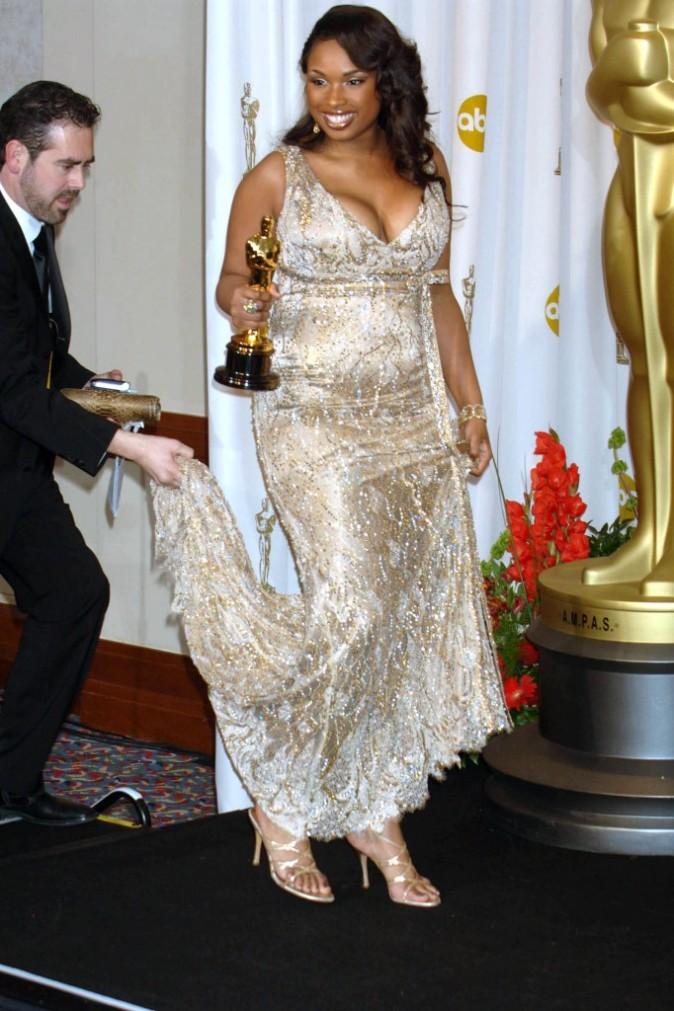 Jennifer Hudson reçoit son prix
