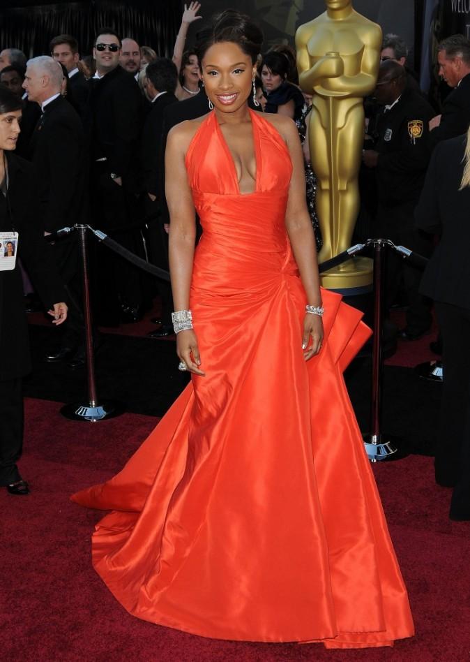 Jennifer Hudson sublime sur le tapis rouge