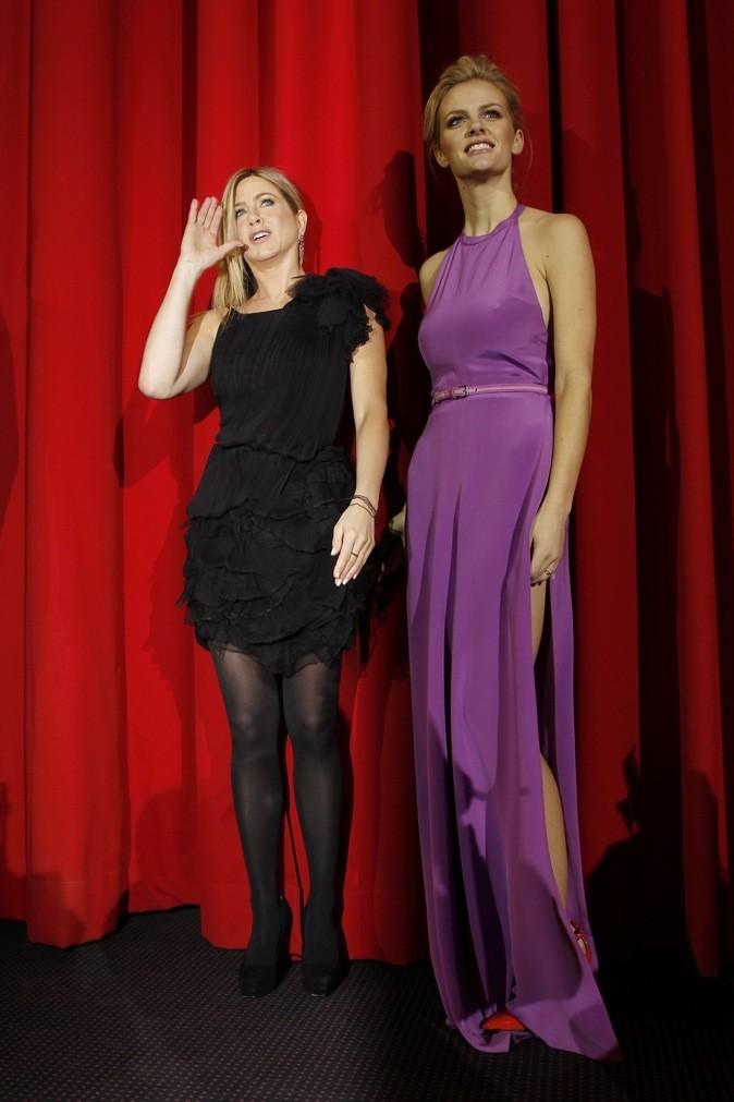 Brooklyn Decker le 21 février 2011 à Berlin avec Jenifer Aniston !