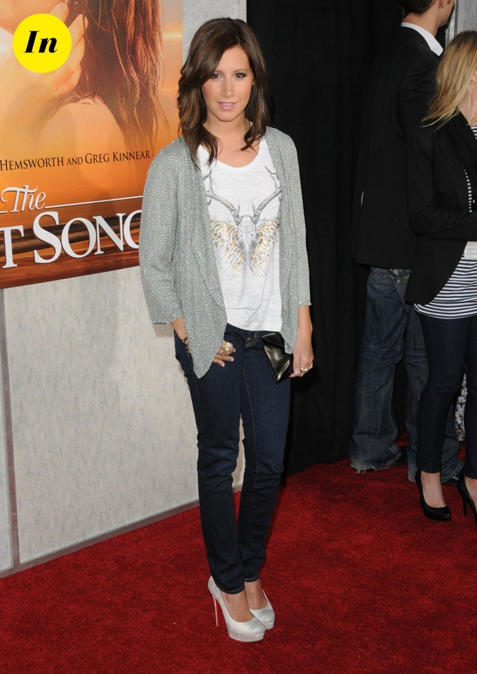 looks d u0026 39 ashley tisdale   d u00e9couvrez le cv fashion de la petite prot u00e9g u00e9e de disney