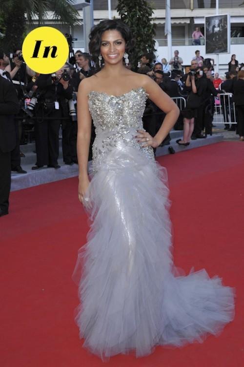 Camila Alves et sa sublime robe coktail ! Elle brille de mille feux !