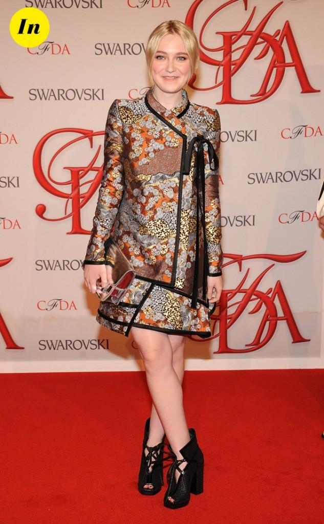 Juin 2012 : aux CFDA Fashion Awards !