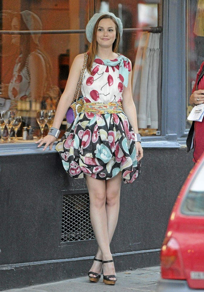La robe imprimé cerises de Blair Waldorf !
