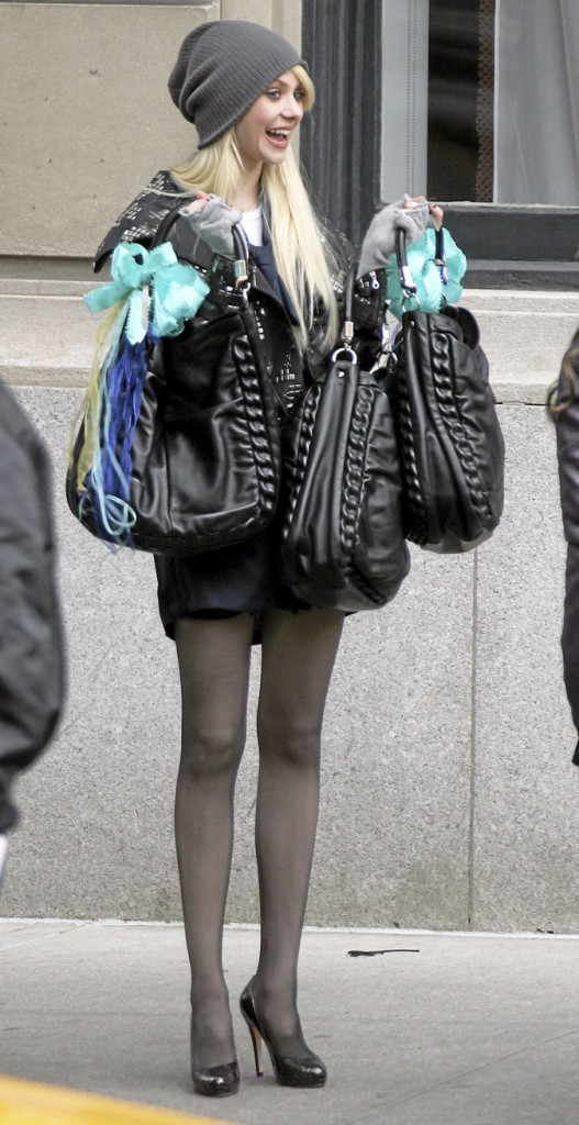 Les trois sacs de Taylor Momsen !