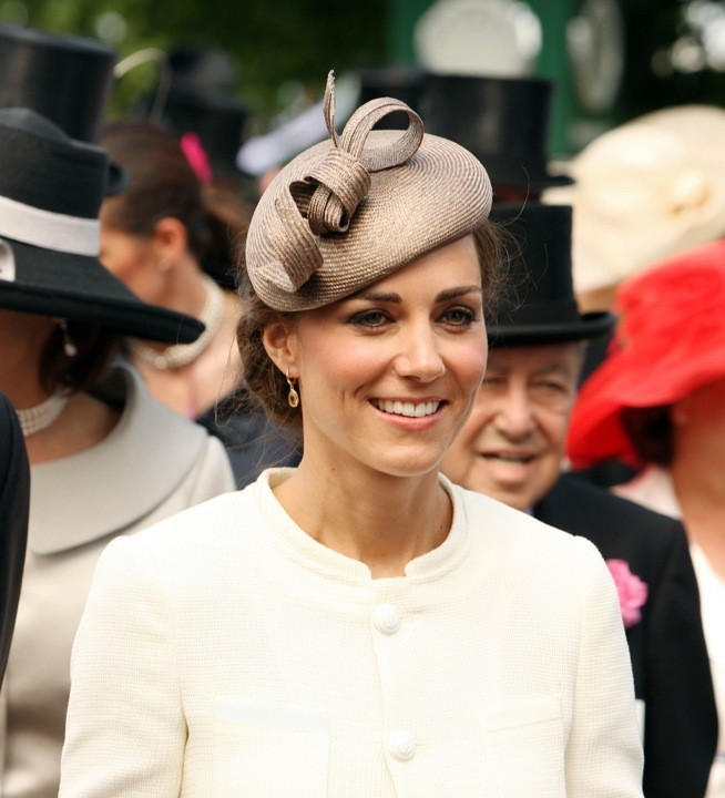 Kate Middleton et son bibi beige