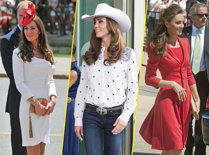 Looks de Kate Middleton : une vraie leçon de chic pendant son premier voyage officiel avec William !