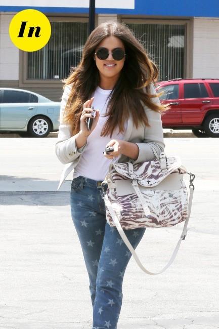 looks de khloe kardashian   d u00e9couvrez son cv fashion