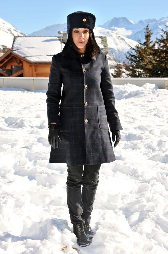 La chapka de Leïla Bekhti en Janvier 2011 !
