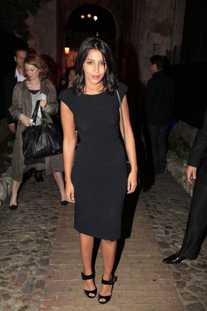 La petite robe noire de Leïla Bekhti au festival de Cannes 2011 !