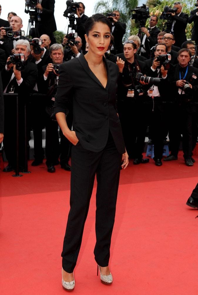 Le smoking chic de Leïla Bekhti au festival de Cannes 2011 !