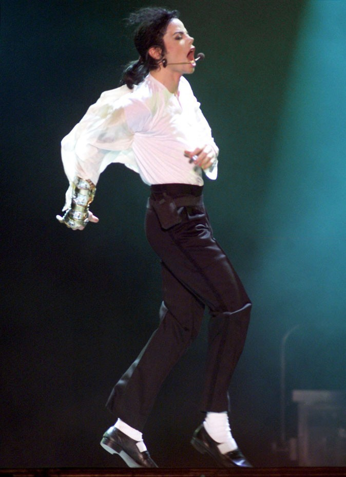 Look de Michael Jackson : black and white en juin 1997