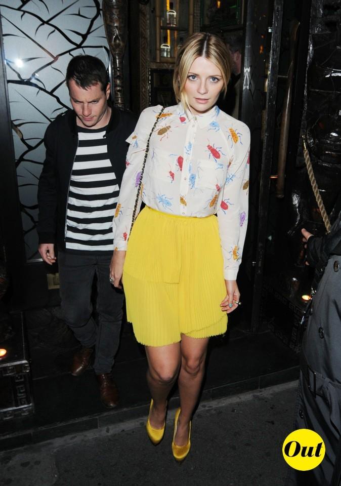 2011 : Elle sort d'une boîte de nuit londonienne !