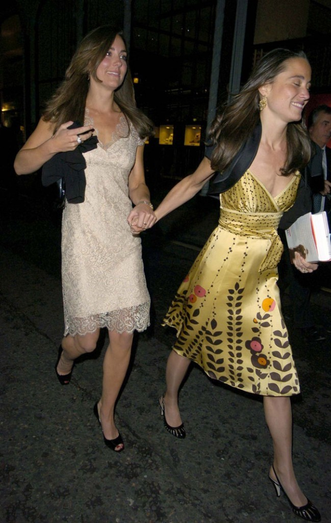 La robe jaune de Pippa Middleton en mai 2011