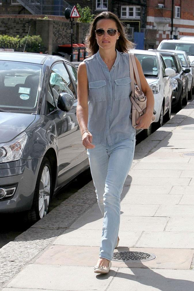 Le look jean de Pippa Middleton en mai 2011