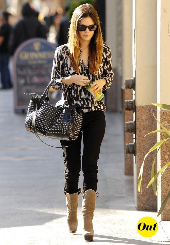 Le look Nicky Hilton de Rachel Bilson en Février 2011 !