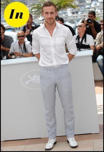 La chemise blanche à Cannes