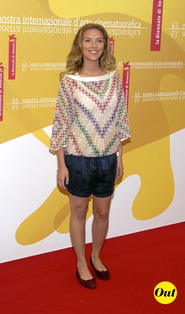 Scarlett Johansson en 2006 : un look short bof