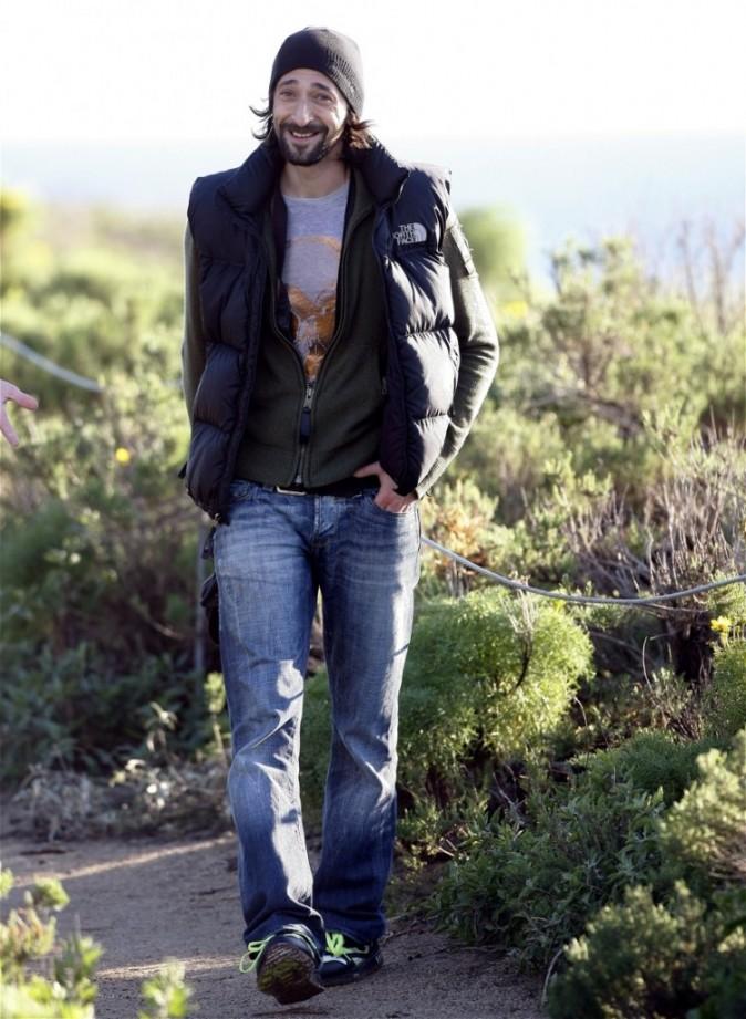 Adrien Brody incognito ou presque !
